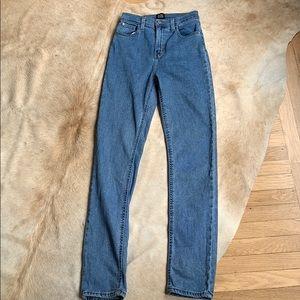 BDG Girlfriend High Rise Longline Jeans